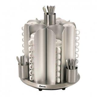 Θερμαινόμενη θήκη για φλιτζάνια  Bartscher AF-103067 350x350x405mm
