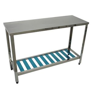 Τραπέζι-πάγκος εργασίας inox (ΧΑΜΗΛΟΣ 65 ΕΚ) 75Χ45Χ65 εκ VNT-D074