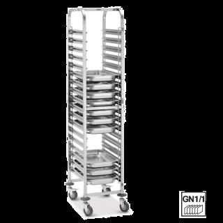 Καρότσι μεταφοράς  για 18 GN 1/1 415x613x1895 εκ AF-300181