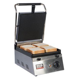 Επαγγελματική τοστιέρα μονή επιτραπέζια ηλεκτρική ραβδωτή  PGR11 26x36x20 εκ VNT-PGR11(601510)