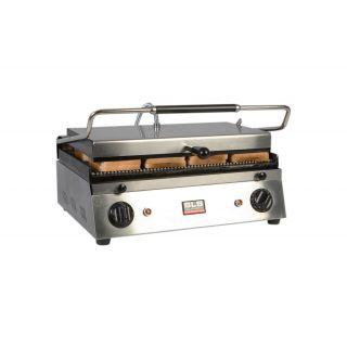 Επαγγελματική τοστιέρα μεσαία επιτραπέζια ηλεκτρική ραβδωτή  XL PGR14 50x39x20 εκ VNT-PGR14(603510)