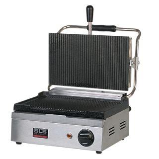 Επαγγελματική τοστιέρα ημίδιπλη επιτραπέζια ηλεκτρική ραβδωτή  PGR12 36x31x20 εκ VNT-PGR12(604510)
