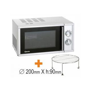 Φούρνος μικροκυμάτων με grill 610826 Bartscher 483x425x281