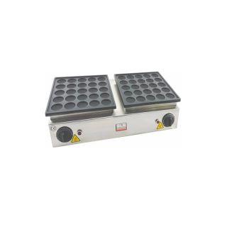 Επαγγελματική βαφλιέρα διπλή επιτραπέζια ηλεκτρική για PANCAKE 53X31X14 εκ VNT-WFP07(707500)