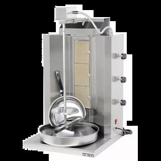 Γυριέρα  αερίου με 3 καυστήρες Μοτέρ Πάνω V-903 50x50x87