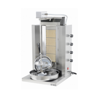 Γυριέρα  αερίου με 4  καυστήρες  Μοτέρ Πάνω  VIM-904