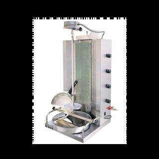 Γυριέρα  αερίου με 4  καυστήρες  Μοτέρ Πάνω VIM-904V