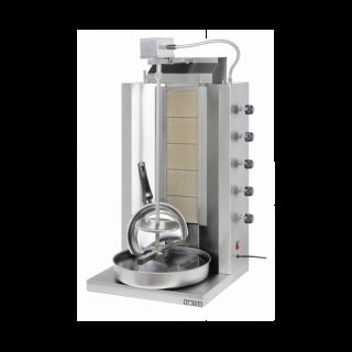 Γυριέρα  αερίου με 5  καυστήρες  Μοτέρ Πάνω VIM-905