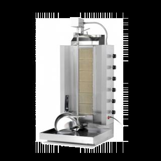 Γυριέρα  αερίου με 6 καυστήρες Μοτέρ Πάνω  VIM-906