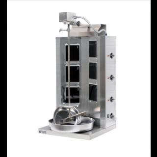 Γυριέρα  Hλεκτρική  με 6 κεραμικές εστίες  Μοτέρ Πάνω VIM-906EL