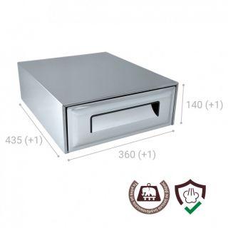 Συρτάρι για υπολείμματα καφέ Coffee Cube AC47 360X435X140