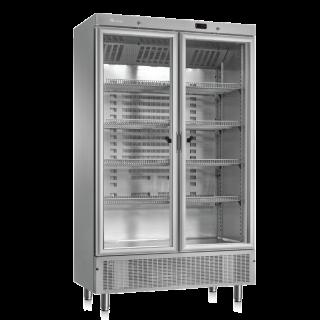 Ψυγείο αναψυκτικών με 2 συρόμενες πόρτες συντήρηση 118x64,5x198 εκ ΑF-ARV800CSTAPV