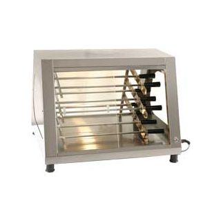 Επαγγελματική βιτρίνα προβολής επιτραπέζια με 12 σούβλες SER-B9 72χ81χ54 εκ
