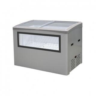 Βιτρίνα για ξυλάκια παγωτού 125,8x73,8x93,5 εκ AF-BMAX GLAMOUR