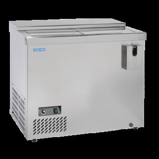 Επαγγελματικό Ψυγείο Ανοξείδωτο Επιδαπέδιο BACK BAR 100X57,5X86,5 εκ CH-BTL1000