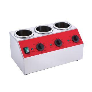 Επαγγελματική Θερμαινόμενη συσκευή για φιάλες SAUCE BW03 ηλεκτρική επιτραπέζια  40X22X21 εκ VNT-BW03