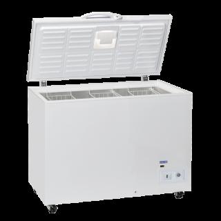 Επαγγελματικό Ψυγείο Mπαούλο λευκό Επιδαπέδιο αναψυκτικών 130,5χ71,5χ90,5 εκ CH-CFP408 ENERGY CLASS D