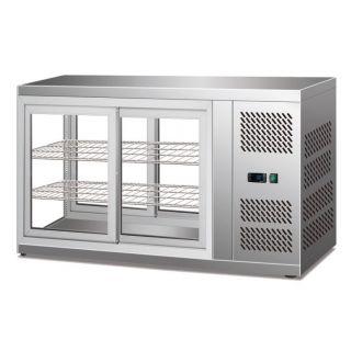 Βιτρίνα Ψυγείο συντήρηση επιτραπέζια πανοραμική 111x51x57 εκ AF-CKC100