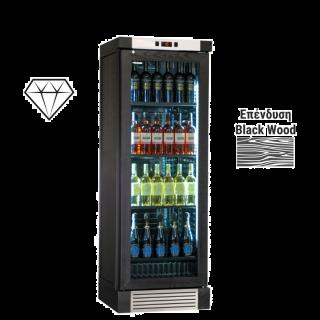 Ψυγείο βιτρίνα κρασιών CLW420L BLACK 66x64x188 εκ  AF-CLW420LBLACK