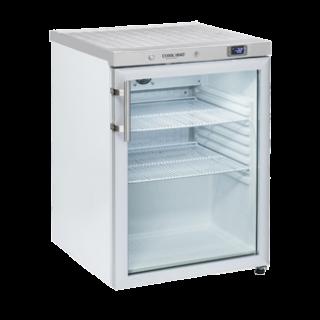 Επαγγελματικό πλαστικοποιημένο ψυγείο βιτρίνα επιτραπέζιο συντήρηση CH-CRG2 59,8X67.9X83,8 εκ ENERGY CLASS A