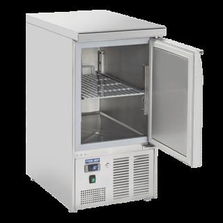 Ανοξείδωτο επαγγελματικό ψυγείο πάγκος συντήρηση 1 πόρτα CH-CRX45A  45x70X89 εκ ENERGY CLASS B