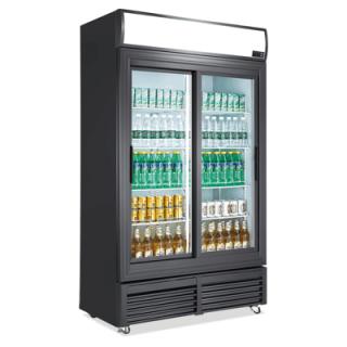 Ψυγείο αναψυκτικών συντήρηση με 2 πόρτες  DBC1000S   122x60x212 εκ VNT-DBC1000S