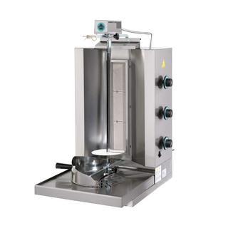 Επαγγελματικός γύρος αερίου με 3 κάθετους καυστήρες SER-DG3  47X60X89 εκ
