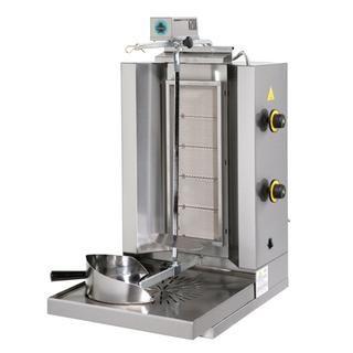 Επαγγελματικός γύρος αερίου με 5 οριζόντιους καυστήρες SER-DG5  47X60X89 εκ