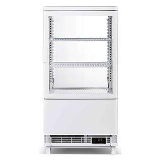 Επαγγελματική βιτρίνα πλαστικοποιημένη συντήρηση λευκή επιτραπέζια 45,2x40,6x81,6 εκ VNT-VE58C