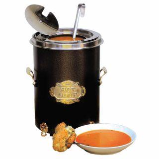 Σουπιέρα Hot Pot Μαύρη 5lt 25x25x35 εκ EM-00-10538