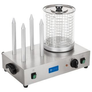 Βραστήρας ατμού για Hot-Dog με γυάλα RCHW 2300 EM-67-01161