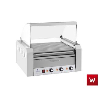 Hot Dog Roller Grill με θερμαντικό για ψωμάκια RCHG 11WO EM-67-01467