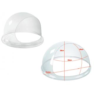 Καπάκι Προστασίας PlexiGlass 72 εκ για Μαλλί της Γριάς  RCZW-COV12XL