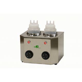 Θερμαντικό Topping/Squeezer Σοκολάτας ICB ΙI διπλό 27x21x18 εκ EM-68-40802