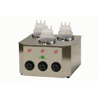 Θερμαντικό Topping/Squeezer Σοκολάτας ICB ΙI διπλό 27x30x18 εκ EM-68-40803