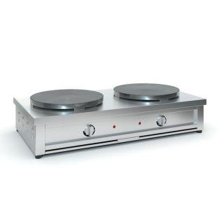 Επαγγελματική κρεπιέρα διπλή ηλεκτρική TZ-2XF35 88X44X20 εκ