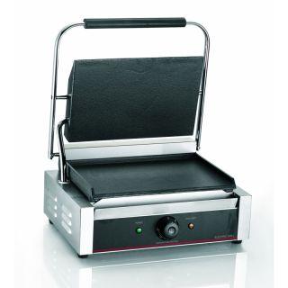Τοστιέρα ηλεκτρική Ημίδιπλη Ραβδωτή πάνω / Λεία κάτω FM-160.675