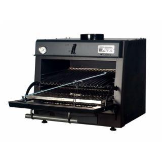 Φούρνος Ξυλοκάρβουνου PIRA 80 LUX Μαύρος 80x69x69 FM-PIRA-80LUXBL