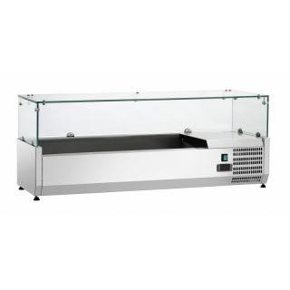 Ψυγείο σαλατών επιτραπέζιο για GN 1/3 120x34x44 εκ  FM-SAL1200-38