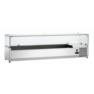Ψυγείο σαλατών επιτραπέζιο για GN 1/3 150x34x44 εκ FM-SAL1500-38