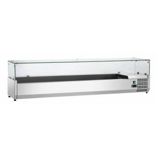 Ψυγείο σαλατών επιτραπέζιο για GN 1/3 180x34x44 εκ FM-SAL1800-38