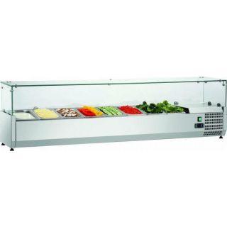 Ψυγείο σαλατών επιτραπέζιο για GN 1/4 200x34x44 εκ FM-SAL2000-33