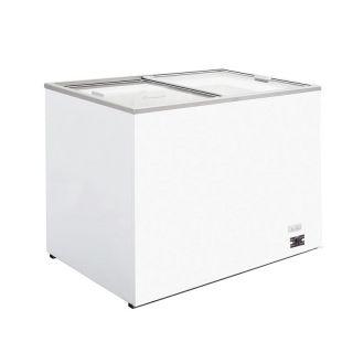 Καταψύκτης με συρόμενα κρύσταλλα Λευκός 102x64x89 εκ FM-FR300FF