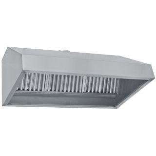 Φούσκα-χοάνη τοίχου ανοξείδωτη 150χ90χ60 εκ BM-FT150