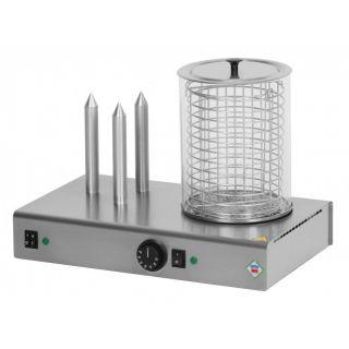 Βραστήρας hot dog με ατμό RedFox AF-HD 03 N/K 480x300x350