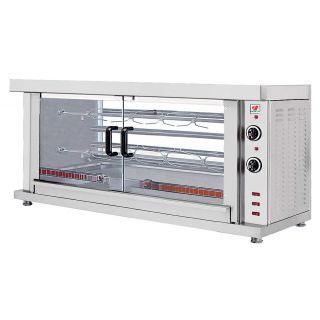 Κοτοπουλιέρα Ηλεκτρική με 2 σούβλες NR-HK2 132X46X66