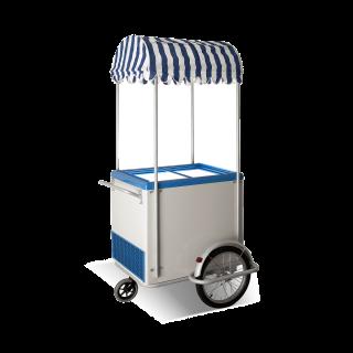 Καρότσι κατάψυξης παγωτού 105 x 112 x 230 εκ CRL- ICE-CREAM-CART