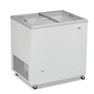 Καταψύκτης με ίσια συρόμενα κρύσταλλα ICE220 84x67x89,5 εκ