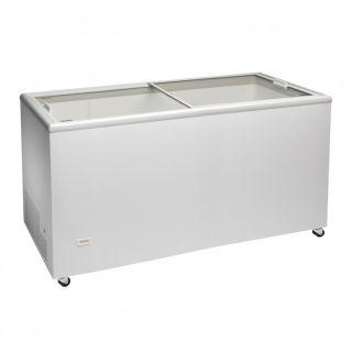 Καταψύκτης με ίσια συρόμενα κρύσταλλα ICE400 128x67x89,5 EK AF-ICE400