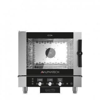 Φούρνος Icon αερίου 5 θέσεων ηλεκτρονικός ICGT051E 777x729x777